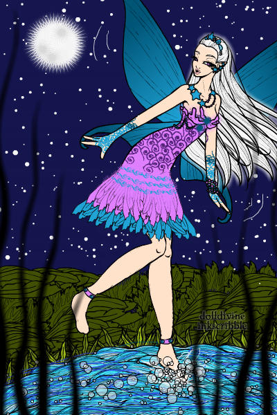 Made by theactress ~ Night Fairy