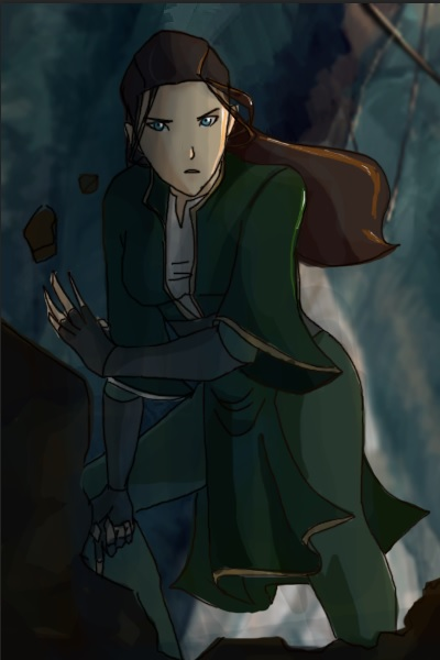 Made by the so freakin\' awesome SJ2 ~ Me as an Earthbender