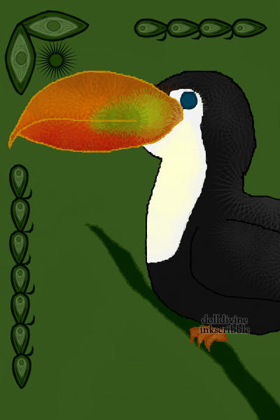 A little prezzie for Immortal_Desire :3 ~ It's a toucan :D nothing extremely speci