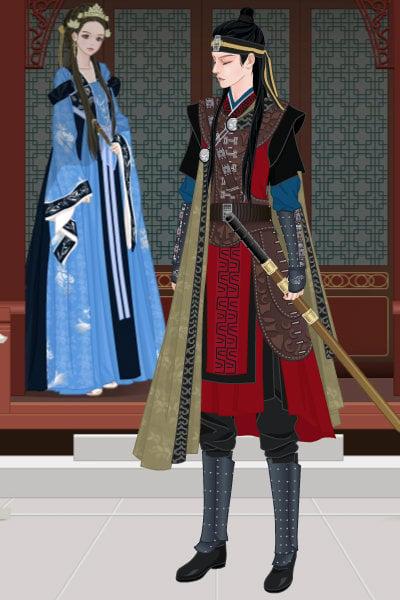 Korean Warrior By Anduin