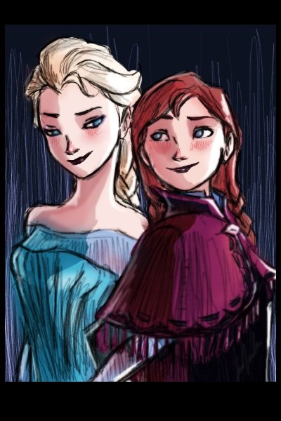 Elsa and Anna ~ Frozen's just everywhereee