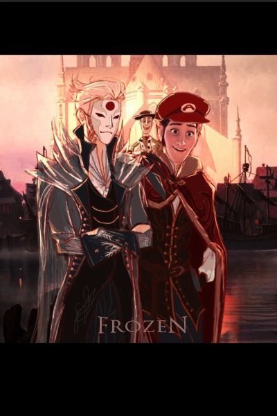 Brozen (Elsa and Ha.n.s.....Anna) ~ Their faces won't be revealed until I fi
