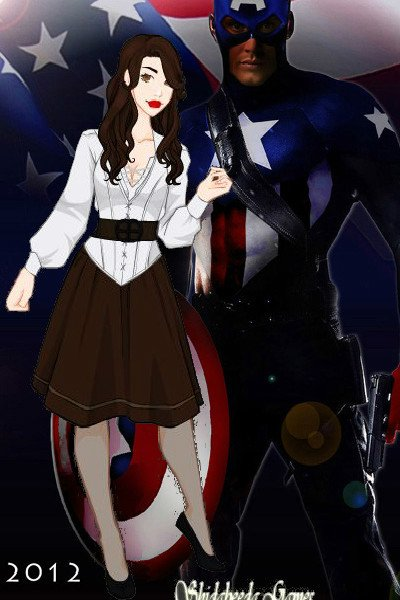 Peggy Carter and Captain America - MOD ~