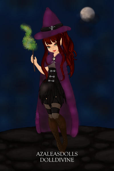 All Hallows Eve ~ #Halloween #Pixie #Witch