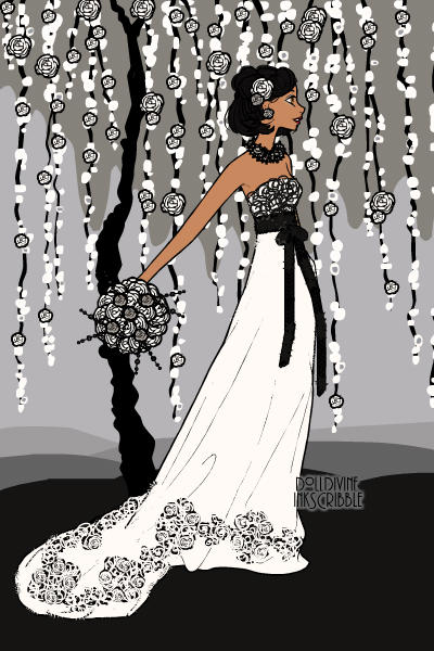 Callia\'s Wedding ~ #CHB #PJO #OC #Wedding #Ballgown #Erte