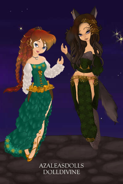 Princess Alynn and the goddess Sheba (An ~ So go check out her stories and dolls an