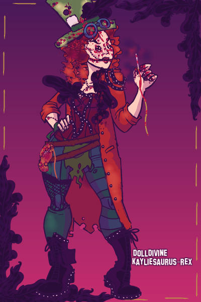 Mad as a Hatter ~ #Madhatter #Dark #bloody
