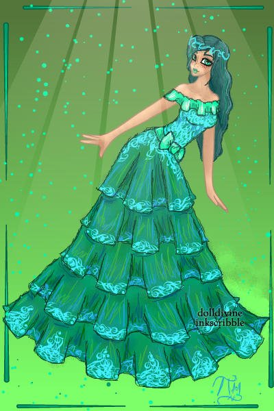 Aquamarine {Or a better name} ~ This didn't really turn out as well as I
