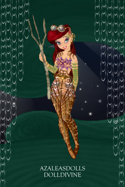 Steampunk Ariel ~ In which she uses her gadgets and gizmos
