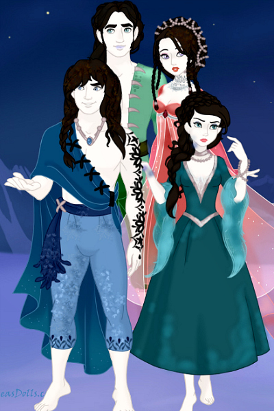 Mai\'itina\'s family ~ Her father Altain, her brother Re'iza,