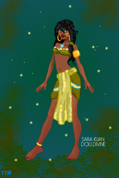 Kiana {Tiana and Kida mix} ~ For a contest. This was fun! #Disney #Fu