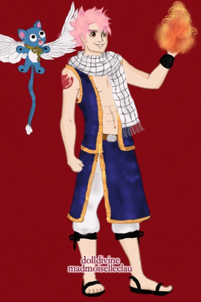 Natsu and Happy ~ So I've been watching a lot of Fairy Tai