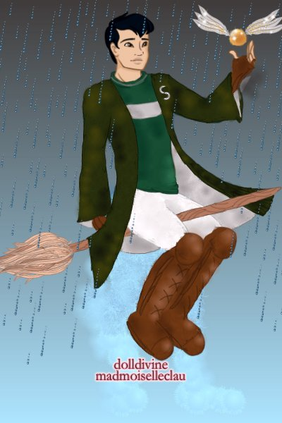 Quidditch in the Rain ~ Wanted to change it up and repo the male
