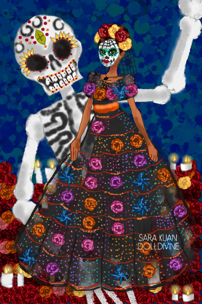 Kena Herring - Dia De Los Muertos ~ The Day of the Dead is a very tradition-