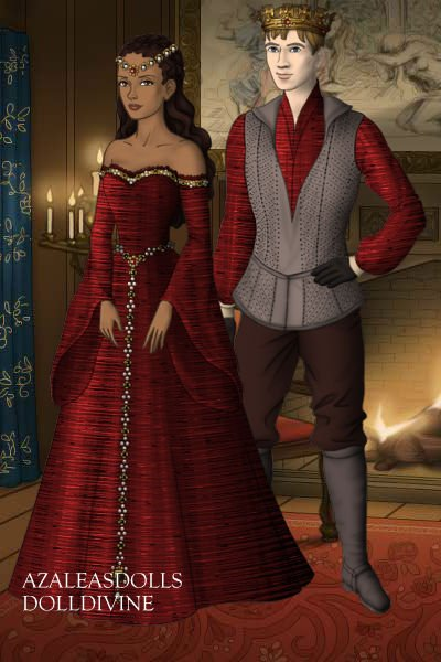 King Arthur Pendragon And Queen Guinevere Bbc Merlin