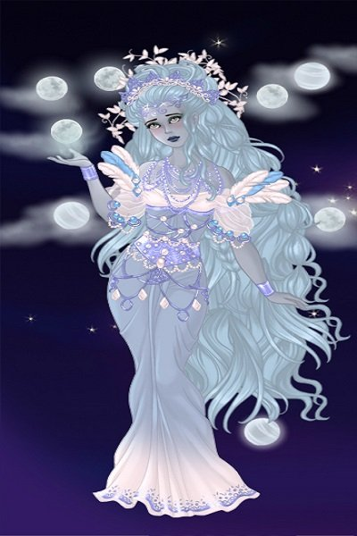 Goddess of many moons ~
