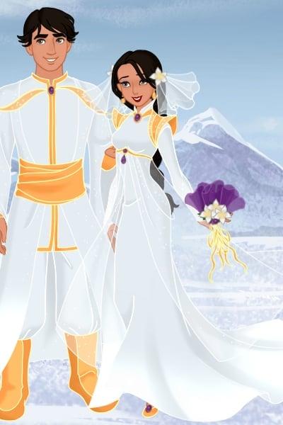 Jasmine Aladdin Wedding I Created This For Merlinlover S