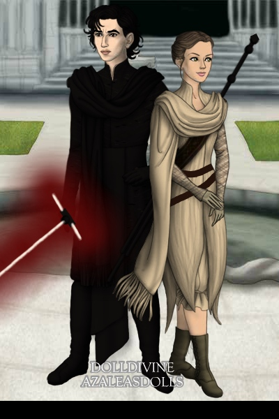 Kylo Ren & Rey ~ Kylo Ren & Rey from Star Wars Episode VI