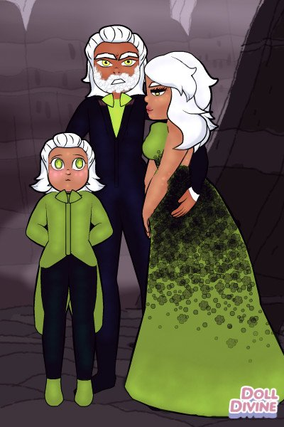 The Manor Everet ~ Lord and Lady Everet with *BONUS* BABY E