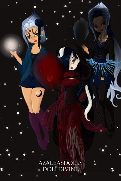 The Shadow Sisters. ~ ShadowMoon, the sister of fear and darkn