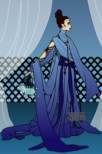 A Sky Lady of the Water Guild. ~ The second-highest ranking Lady of the T