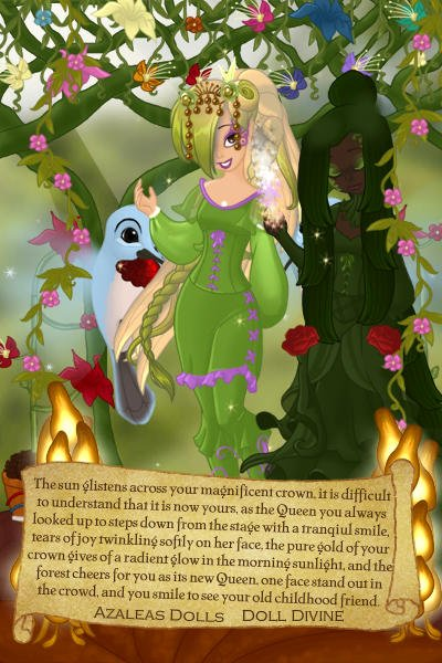 Woodland Queen Fawne. ~