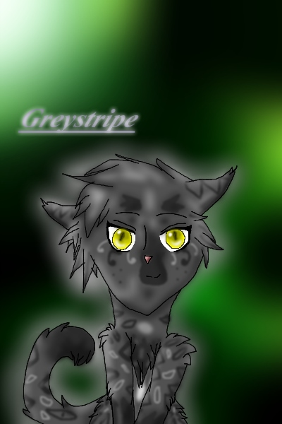 Greystripe! ~ WHAT?! A drawing by me that's NOT one of