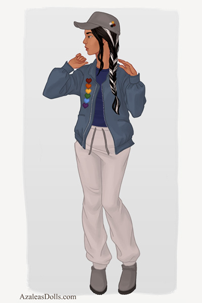 Modern Anyu ~ If she was a normal human college studen