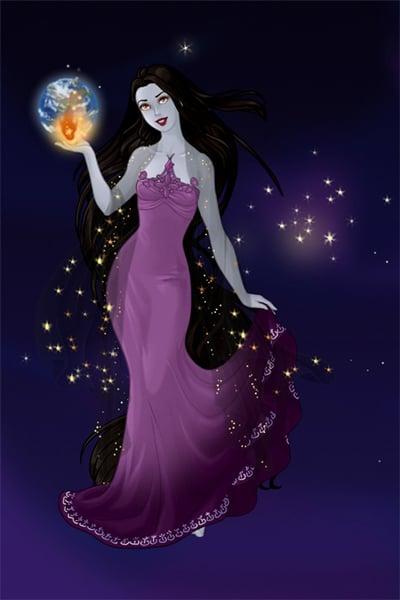 Eris Goddess Of Discord By Violetphoenix13