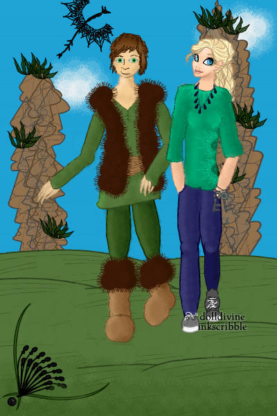 AliHaddok and Hiccup! (requested by AliH ~ HEY ALI! LOOK WHO I FOUND! Yeah, so Ali