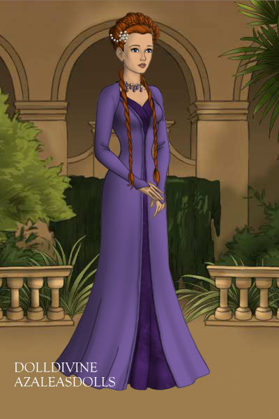 Sansa Stark Purple Wedding By WandaXmaximoff