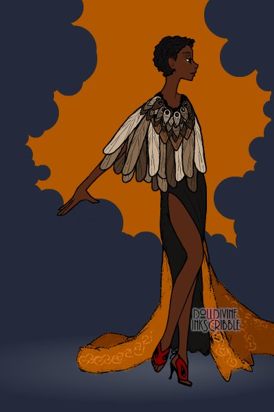 queen ~ saw a dress like this on tumblr once and