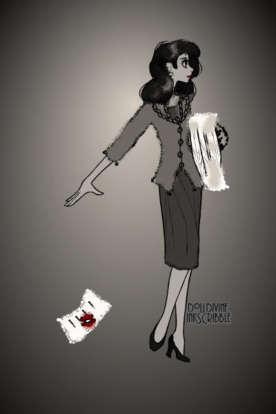 Girl from \Paperman\ -Disney Short ~