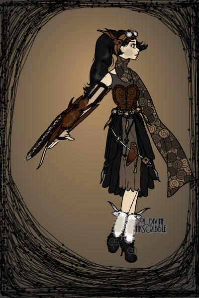 Steampunk Girl 2: Adelynn Silverworth ~