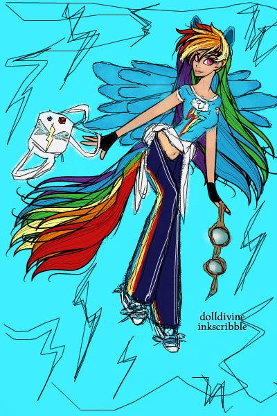 My Little Human: Rainbow Dash ~ Is she not 20% cooler? :) 