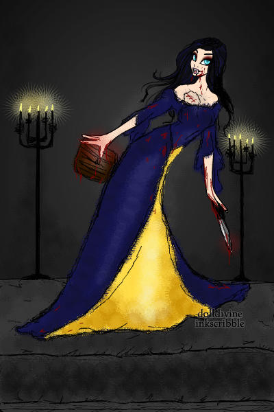 Lady Blue the Heartless Vampiress ~ She is only known as Lady Blue of the Hi