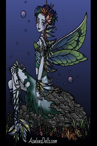 Ephyra: Water Faerie ~ Perhaps this will be the first in some e