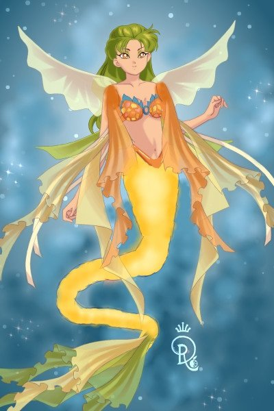 Sea Dragon Mermaid ~ Based upon one of the coolest creatures