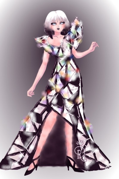Prism Dress ~ Whew! This took a while! 3 hours total!