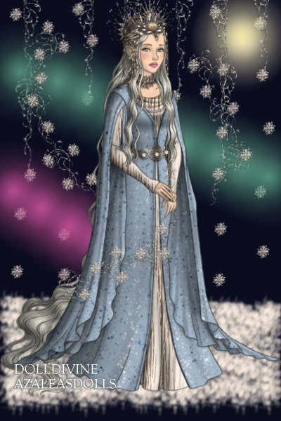 Snow Queen ~ My version of a lovely doll, made by And