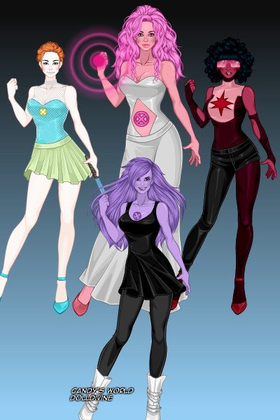 X-Men Crystal Gems ~ by BloodRain X Men Girls Dress Up