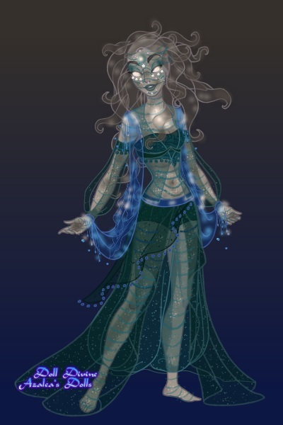 .: Sea Witch .: ~ Her hair is supposed to be made of deadl