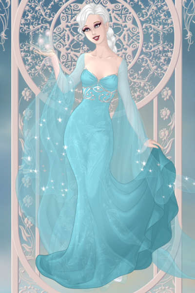 Elsa from Frozen ~ I'm free! 