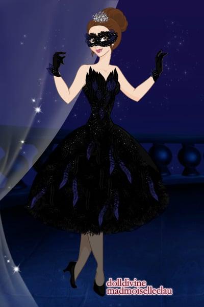 PLL Black Swan Masquerade Dress ~ by Zamizazi