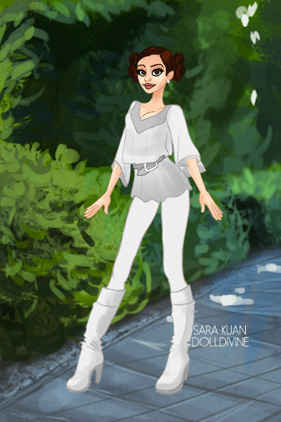 Modern Leia ~ Modern Leia!!! Not sure how modern it is