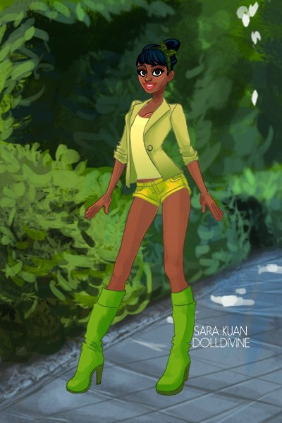 Modern Tiana ~ Part of my DPM series!!! :)