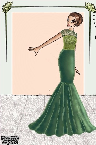 Green Elegance ~ So, this is REALLY old. It was for a con